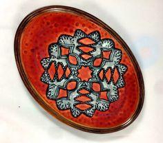 Paper Snowflake Stoneware Platter