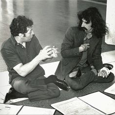 #TBT to Zubin Mehta & Frank Zappa collaborating on 1970's Concerto for Mothers and Orchestra