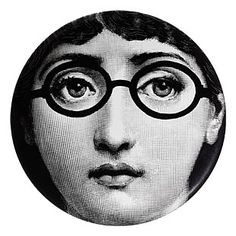 "Plate 155 from Piero Fornasetti's ""Theme and Variations"" series"