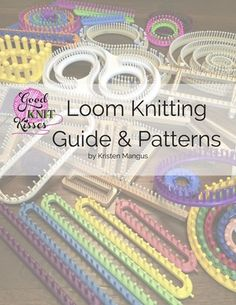 Books : Loom Knitting Guide & Patterns: Perfect for Beginner to Advanced Loom K. Books : Loom Knitting Guide & Patterns: Perfect for Beginner to Advanced Loom Knitters Loom Knitting Stitches, Knifty Knitter, Loom Knitting Projects, Knitting Books, Free Knitting, Knitting Scarves, Sock Knitting, Knitting Tutorials, Knitting Machine