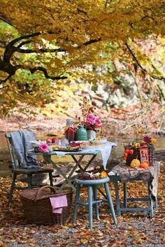 A fall picnic from Franciskas Vakre Verden.