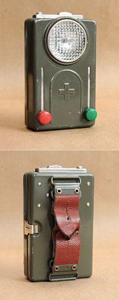 1950's era Swiss Army flashlight