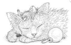 Stampendous - Cling Mounted Rubber Stamp - House Mouse Friendly Dreams