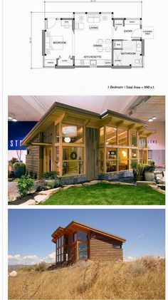 Top 10 Modern Tiny House Design and Small Homes Collections My heart is thumping. The Best Modern Tiny House Design Small Homes Inspirations No 62 Modern Tiny House, Tiny House Living, Tiny House Plans, Tiny House Design, Tiny Home Floor Plans, Unique Small House Plans, Small Home Plans, Tiny Cabin Plans, Guest House Plans