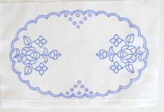 Kalocsa oval doily pattern print from Hungary New 10.5'' x 6.5 '' DIY p in Collectibles, Linens & Textiles (1930-Now), Lace, Crochet & Doilies | eBay