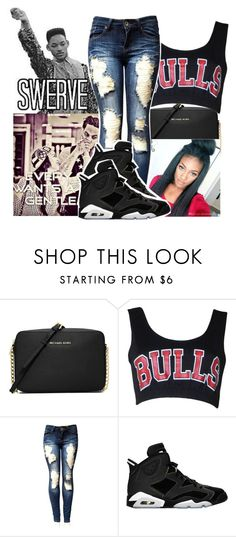 """""""Swerve Bish!! ❎❎"""" by qeens ❤ liked on Polyvore featuring MICHAEL Michael Kors and Retrò"""