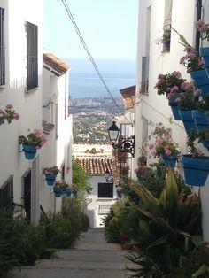 Fuengirola view from Mijas Pueblo