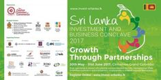 The event to be held at the Cinnamon Grand, Colombo will provide potential foreign investors with an overall outlook of Sri Lanka's Investment. Sri Lanka, Investing, Business, Store