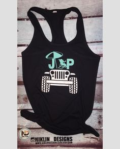 Womans jeep beach racerback tank top | jeep tank top | fitness tank top | gym tank top | crossfit tank top | beach tank by niklindesigns1225 on Etsy https://www.etsy.com/listing/622864251/womans-jeep-beach-racerback-tank-top