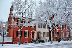 Old Town Alexandria in the Snow - Old Town Home