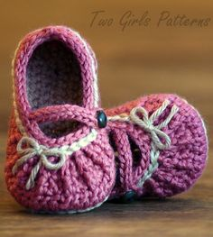 Crochet pattern - Mary Jane shoes