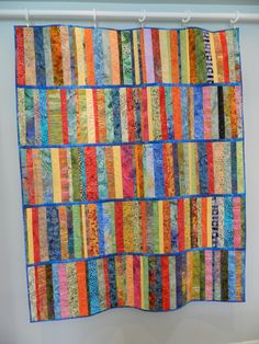 Quilt as you go class sample. Designed by Val Haggstrom 2012