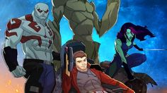 """Guardians of the Galaxy Cartoon Picks Up Where Movie Left Off Has Less Sex Jokes - """"Less sex jokes"""" should just be the show's tagline."""