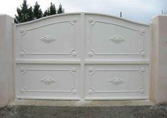 House Main Gates Design, Front Gate Design, Door Design, House Design, Sliding Gate, Front Gates, Door Gate, Iron Doors, Creative Home