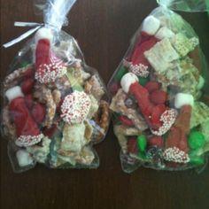 Santa snack mix!!