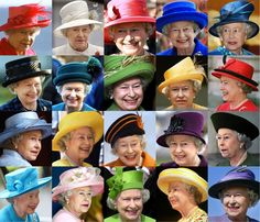 Les chapeaux de la Reine