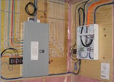 pictorial diagram for wiring a subpanel to a garage electrical rh pinterest com residential wiring diagram pdf residential wiring diagram software