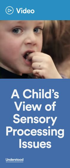 Want to know what sensory processing issues are like for kids, and what can help? Neil, a child with sensory processing issues, can explain it firsthand. He shares his story in this video.