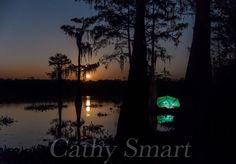 Moonrise, Bayou Benoit, Louisiana