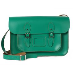 """Satchel Absinthe 14"""", 105€, now featured on Fab."""
