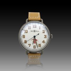 0506abbf6ea9b Montre Bell & Ross WW1-92 Guynemer (Limited 500 ex) Automatique . Full Set  2017