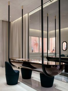 Chic dining area or lobby