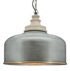Hanglamp Conner antiek zilver - Hanglampen - Loods 5