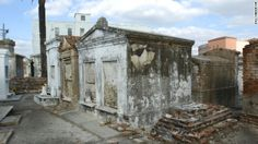 With New Orleans' high water table, rain could dislodge people from resting places thought to be final. That's why the city has a system of ...