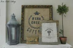Fern Creek Cottage: Fall Vignette