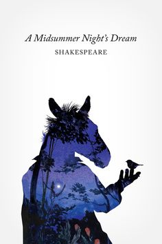 A Midsummer Night's Dream book cover by Chad Gowey