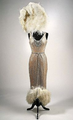 1929 Designed by Edith Head  For Mae Murray in 'The Merry Widow'.