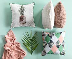 Soczyste poduszki dekoracyjne