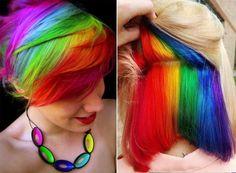 Secret Rainbow Hair