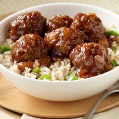 Hawaiian+Meatballs+and+Rice+@keyingredient