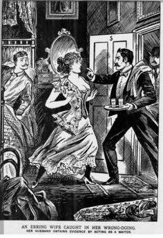 The crimconometer: 1857's newest way of catching adulterers.