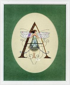 Nora Corbett-Mirabilia letters--letter A charts for all letters from Silver Needle