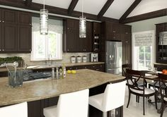 Eurostyle Berne Traditional kitchen in Brown