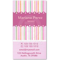 311 bakery cupcake blue swirls chocolate brown business card custom pink and purple business card design with lace stripes and gingham patterns cute reheart Gallery