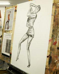 Drawing painting lesson with Chloë Bonet   www.malovanikresleni.cz