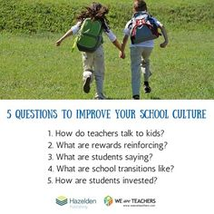 WeAreTeachers: Tips for Measuring & Analyzing Improvement in Your School Culture | Teacher's corner | Scoop.it