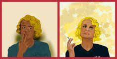 Fumar es un placer sensual virtual  fumando espero ...