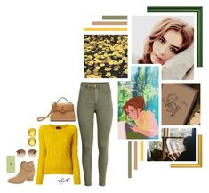 """""""What Makes You Different, Makes You Beautiful - Jane - Disney's Tarzan"""" by rubytyra ❤ liked on Polyvore featuring Disney, Roberto Collina, Mulberry, Chanel, Gucci, WithChic and modern"""