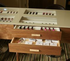 Nail bar for Ockenden Manor health spa Nail Bar, Joinery, Wine Rack, Commercial, Spa, Cabinet, Storage, Health, Furniture