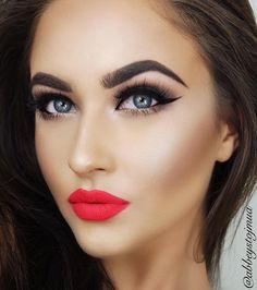 Best Makeup Trends - Make-Up Trends Flawless Makeup, Gorgeous Makeup, Lip Makeup, Beauty Makeup, Makeup Style, Perfect Makeup, Hair Beauty, Makeup Trends, Makeup Inspo