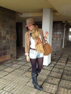 luciapetalsandthorns Outfit   Invierno 2012. Cómo vestirse y combinar según luciapetalsandthorns el 21-1-2013