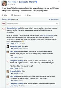 Woman Gets Totally Owned After Complaining About A Campbell's Commercial Featuring Two Gay Men | Thought Catalog