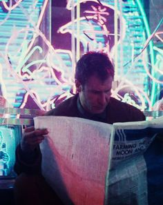 more human than human Blade Runner Rick Deckard_Harrison Ford