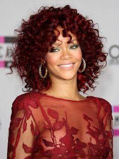 Popular Short Red Curly Hair
