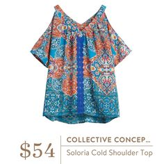 Stitch Fix | Collective Concepts | Soloria Cold Shoulder Top == this would be trying something new!!!