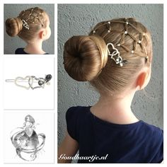 A bun with beautiful hairclip from Goudhaartje.nl #bun #hairclip #hairstyle #hairelastic #knot #haarelastiek #haarclip #haarstijl #hairaccesories #haaraccessoires #goudhaartje